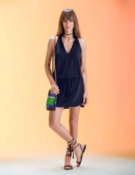 SLD BLUE SALLY SHORT DRESS